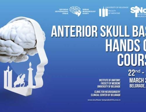 Anterior skull base hands on course 1st International workshop