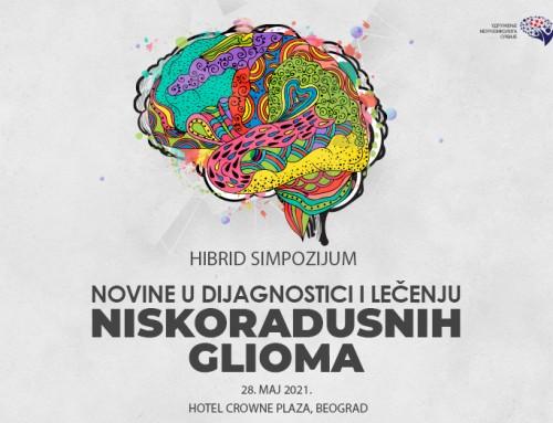 HIBRID Simpozijum  Novine u dijagnostici i lečenju niskogradusnih glioma